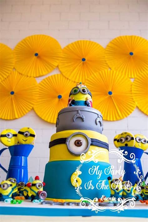 birthday themes minions kara s party ideas minions birthday party kara s party ideas
