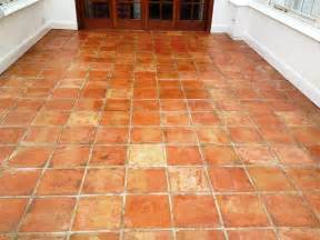 tackling stained terracotta tiles in a conservatory