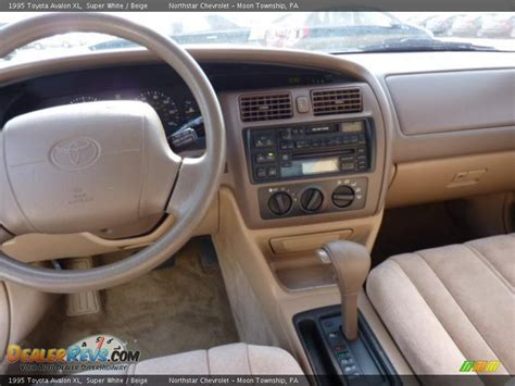 1995 toyota avalon interior beige interior 1995 toyota avalon xl photo 8