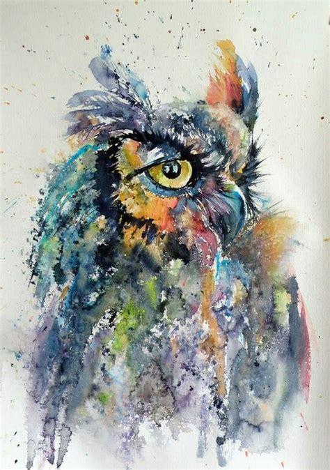 water color owl owl watercolor watercolors owl owl watercolor