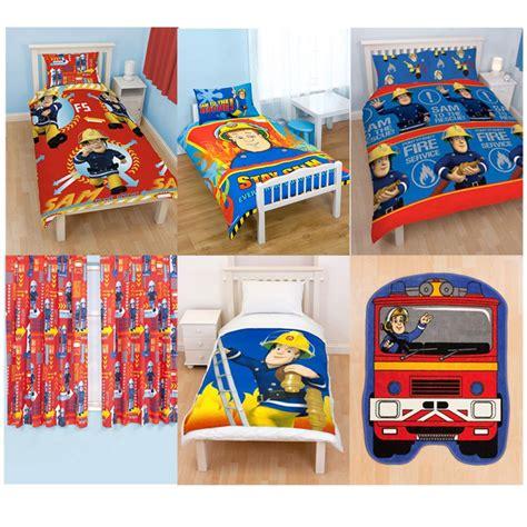 Fireman Sam Bedroom Furniture Fireman Sam Bedroom Accessories Bedding Furniture New Official Ebay