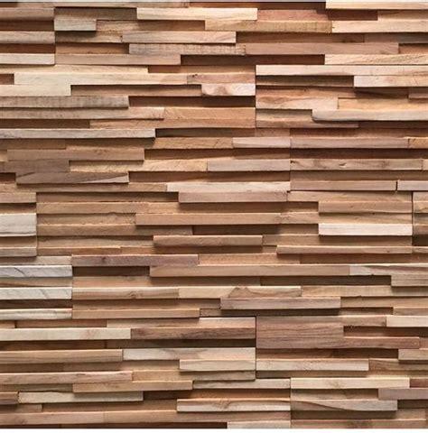 vinyl wandpaneele bol houtstrips 3d wood panel ultrawood teak toscani