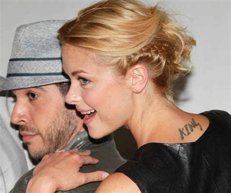 jaime king tattoo jaime king tattoos