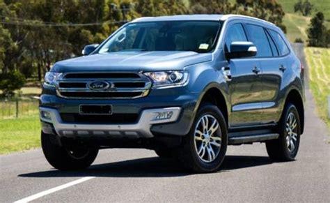 ford everest facelift 2018 2018 ford everest facelift update ford redesigns