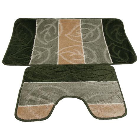 set tappeti bagno set tappeti da bagno corredo 2 pezzi 5 varianti ebay
