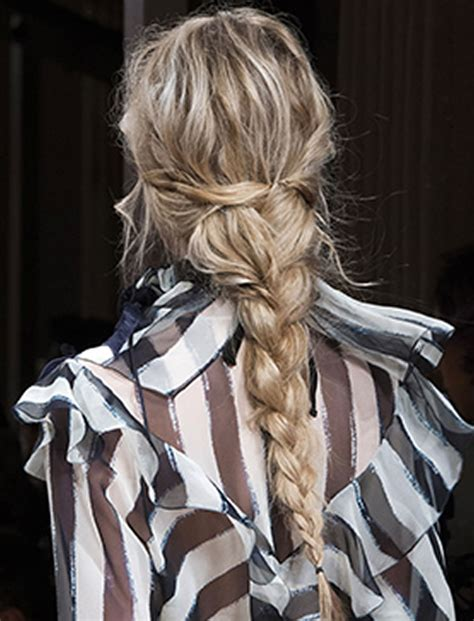 braided hairstyles hairstyles 2018 new haircuts and hair 30 fabulous braided hairstyles 2018 from new york fashion week