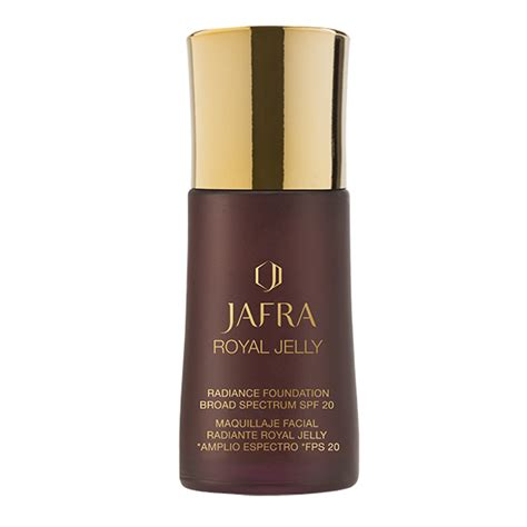 Foundation Royal Jelly Raiance Fondation Broad Spectrum Spf 20 baron jafra shop royal jelly feuchtigkeits make up f 252 r strahlenden teint spf 20