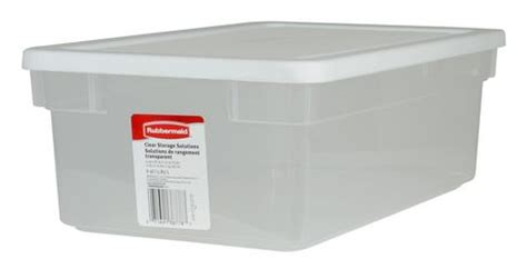 rubbermaid storage containers walmart rubbermaid 5 8 l storage container walmart ca