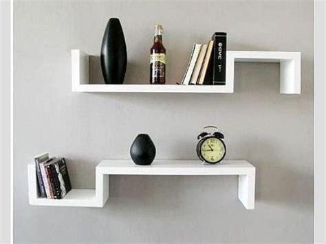 imagenes repisas minimalistas repisas flotantes tipo s minimalistas