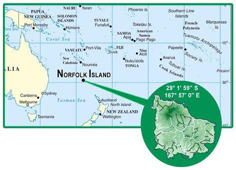norfolk island map norfolk island detailed location map detailed location