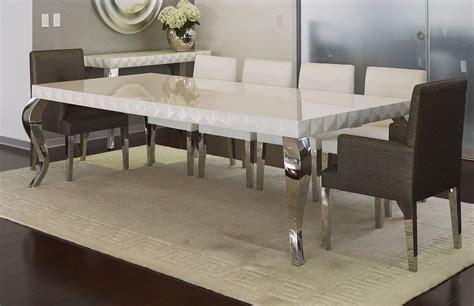 mesa de comedor nazca tablero facetado acabado en