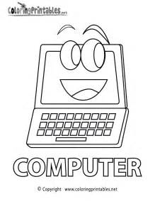 computer coloring pages computer coloring page printable coloring worksheets