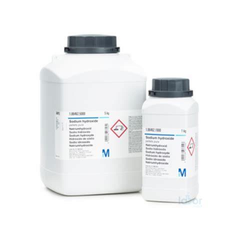 Merck 105033 Potassium Hydroxide Pellets For Analysis Cap 1 Kg merck 106462 sodium hydroxide pellets 1 kg sodium