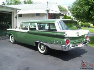 1959 ford 2 door ranch wagon