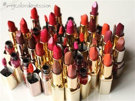 color obsession l oreal paris color riche red lipstick review photos