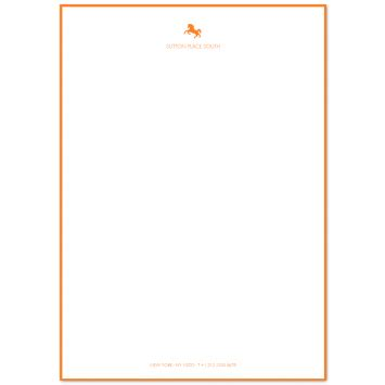 lined paper with border a5 personalised writing paper prantl since 1797