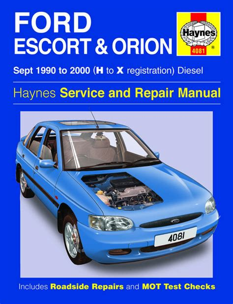 where to buy car manuals 1984 ford escort on board diagnostic system haynes manual ford escort orion diesel sept 1990 2000