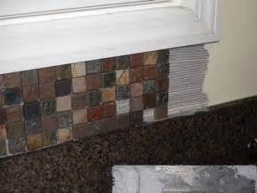 Install Kitchen Tile Backsplash Installing Backsplash Kitchen Kitchen Design Photos