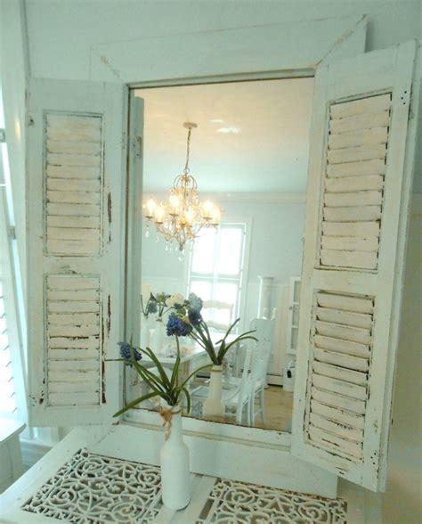 mirror shutter shabby chic furniture