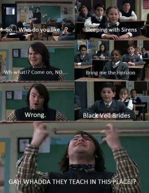 School Of Rock Meme - school of rock jack black quotes quotesgram