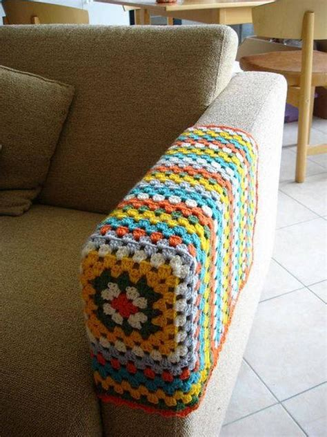 how to cover sofa arms ideas for easy crochet creations upcycle art
