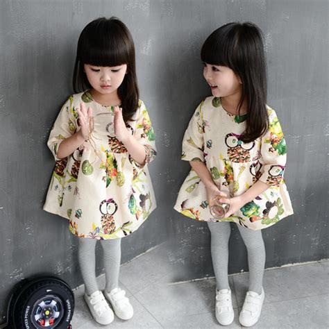 Dress Owl Korea retail 2016 new fashion autumn dresses