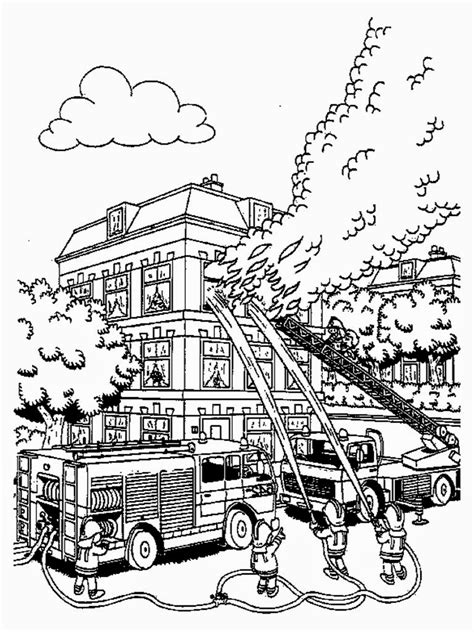 Costume Anak Kostum Pemadam Kebakaran Fireman Firefighter firefighter coloring pages to print realistic coloring pages