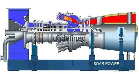mhps gas turbine generator set h25 h50 h100 china