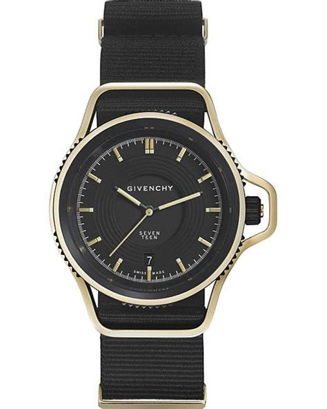 Limited Edition Givenchy Shoper givenchy gy100181s09 seventeen limited edition yellow gold plated and leather in black for