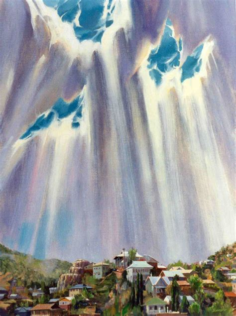 Sun Shower by The Painting Called Quot Sun Shower Quot