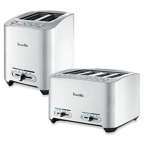 bed bath and beyond breville breville 174 die cast smart toaster bed bath beyond