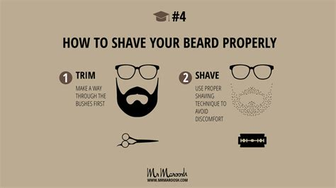 how to put in beard how to shave a beard