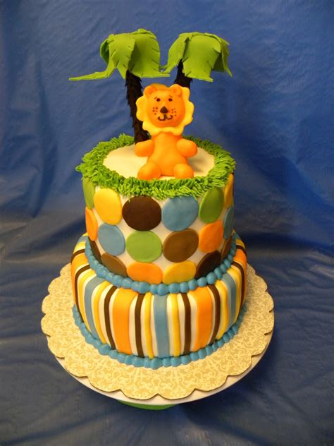 King Of The Jungle Baby Shower by King Of The Jungle Baby Shower Cake Cakecentral