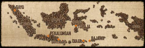 indonesian coffee map remarkableindonesiancoffee