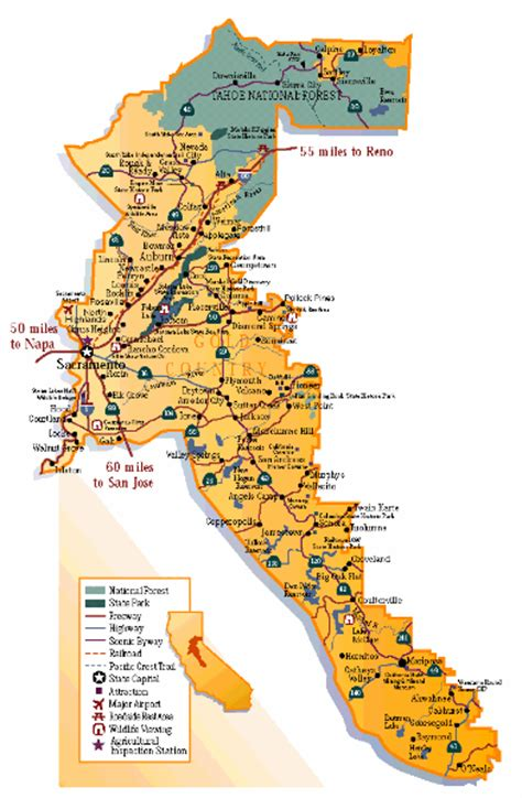 california map image free printable map of map of california gold map free
