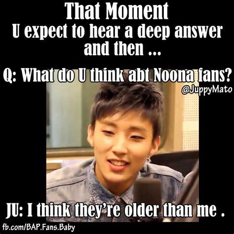Bap Memes - kpop memes our 4d jongup trollin us xd himchanchan