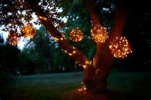 Light Balls For Trees - diy lighting fixture designs for the backyard