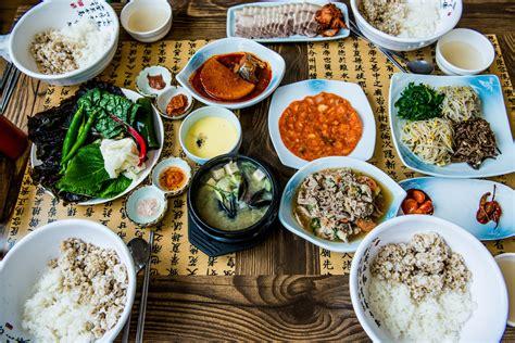 imagenes comida coreana fotos gratis plato almuerzo cocina comida asi 225 tica