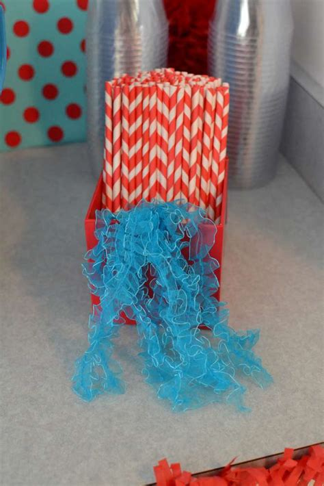 Thing 1 And Thing 2 Baby Shower Supplies by Thing 1 Thing 2 Baby Shower Ideas Photo 2 Of 14
