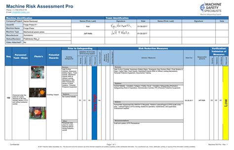 formal risk assessment template formal risk assessment template choice image template