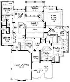 nice 1 story house plans with bonus room #1: one-story-luxury