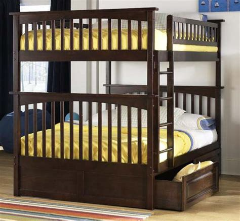 Large Bunk Bed Save On Atlantic Furniture Columbia Bunk Bed Now