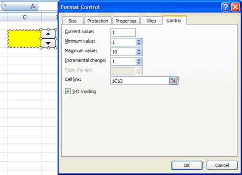 format html button cara menambahkan spin button di excel debi suklisno