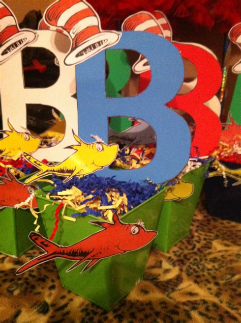 Dr Seuss Baby Shower Centerpiece Ideas by My Dr Seuss Baby Shower Centerpieces My Stuff