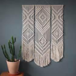Wall Hanging Design Best 25 Macrame Ideas On Pinterest Macrame Knots