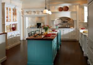 Cottage Style Kitchen Island by Custom Cabinetry Project Gallery Plain Fancy Cabinetry