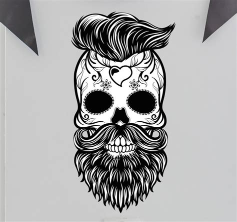 imagenes e hipster wandtattoo totenkopf hipster m 233 xico tenstickers