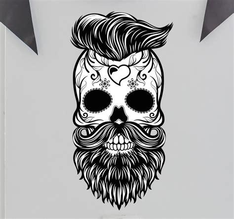 imagenes de hipster blanco y negro vinilo decorativo calavera hipster m 233 xico tenvinilo