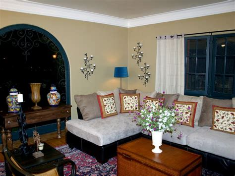 spanish style living room spice up your casa spanish style hgtv