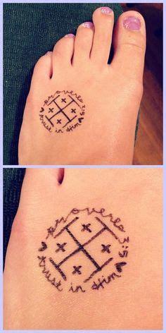 kairos cross tattoo side finger cross